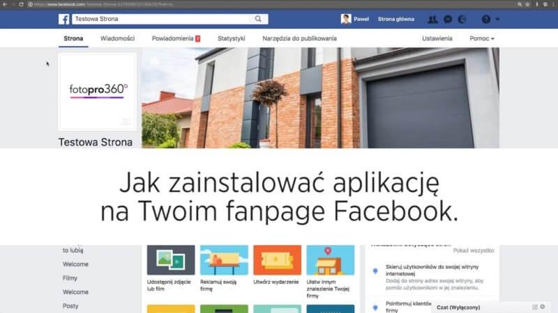 Jak zainstalować aplikację facebook na stronie Fanpage Twojej Firmy 800x450 - Jak zainstalować aplikację facebook na stronie Fanpage Twojej Firmy?