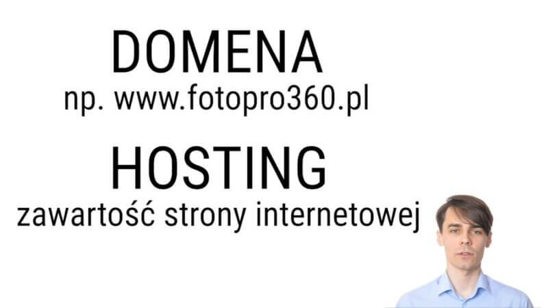czym rozni sie domena od hostingu 800x450 - Czym różni się domena od hostingu? Jak powstaje strona WWW? ProstePorady#1