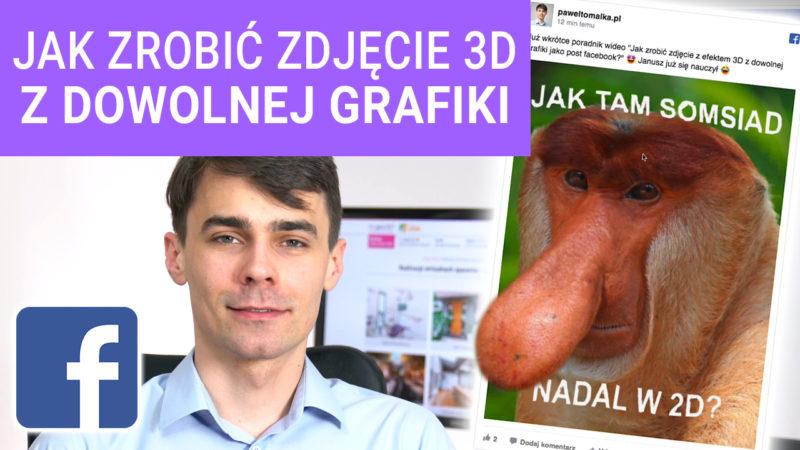 Jak zrobić zdjęcie z efektem 3D z dowolnej grafiki jako post Facebook 800x450 - Jak zrobić zdjęcie z efektem 3D z dowolnej grafiki jako post Facebook?