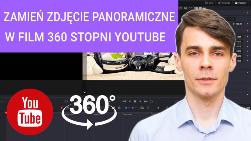 jak zmienić zdjęcie panoramiczne w film 360 stopni 800x450 - Jak zmienić zdjęcie panoramiczne w film 360 stopni na Youtube? PORADNIK